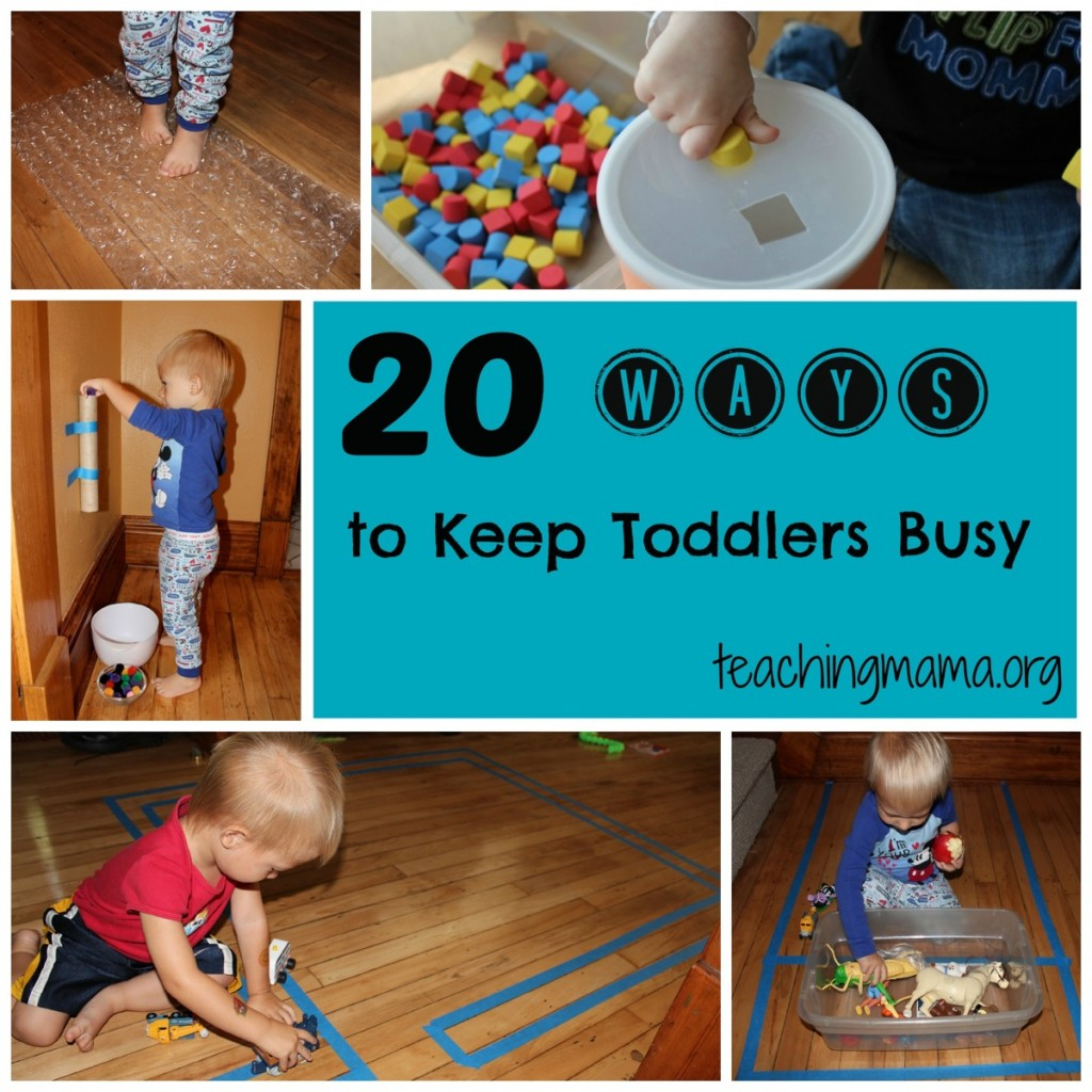7 Ways To Keep A 1 Year Old Toddler Busy ⚡ Baby Care Guru